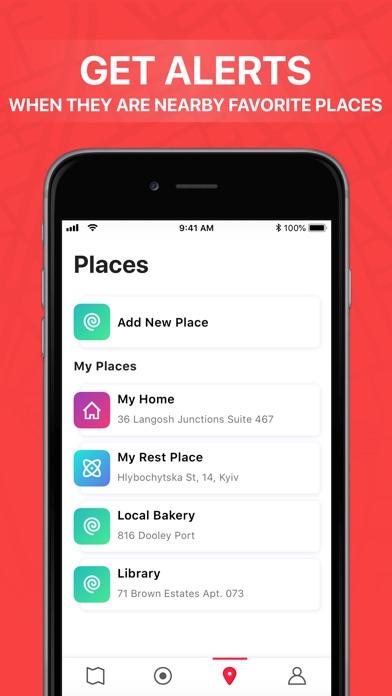 Lap - Find Family & Friends Screenshot