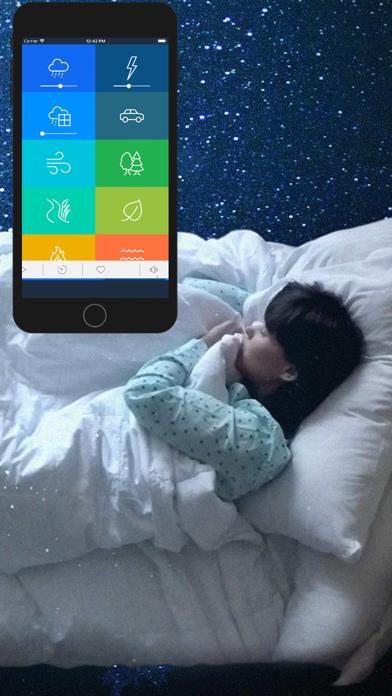 睡眠音:雨、もっと自然のおすすめ画像9
