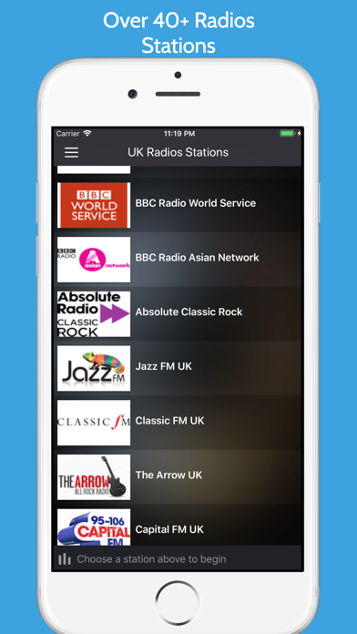 United Kingdom Radios Stations screenshot three