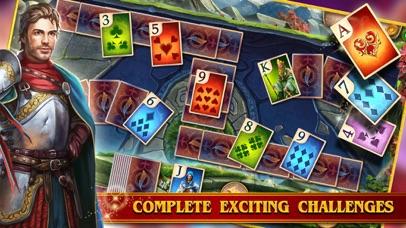 TriPeaks Solitaire Cards Queen screenshot 2