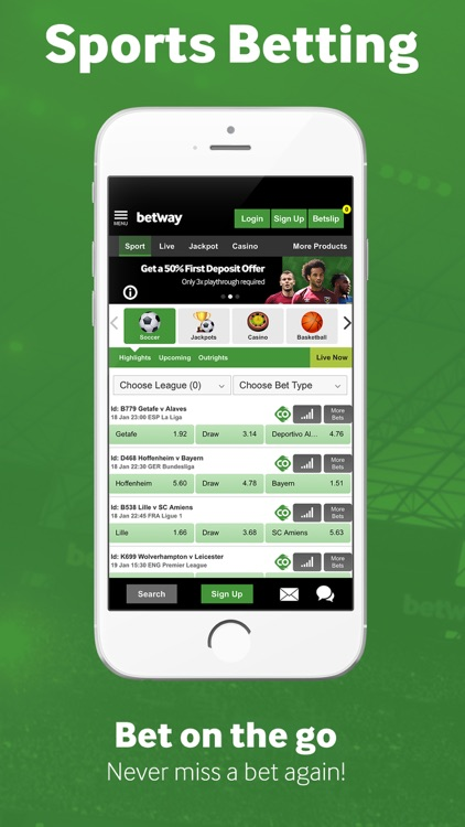 Betway Sport Betting screenshot-0