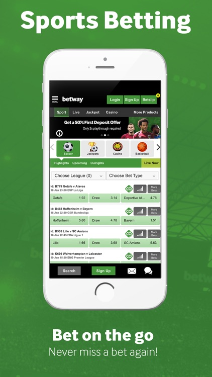 Betway Sport Betting By The Rangers Ltd