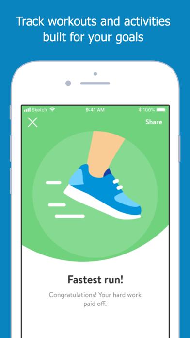 Screen Shot Peak Fitness App 8