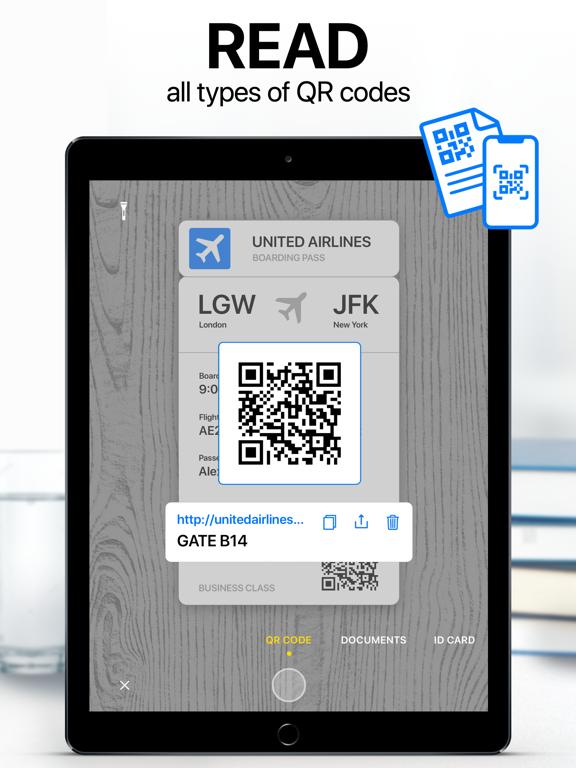 iPad Image of Scanner App: PDF Document Scan