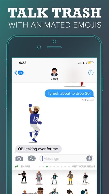 SportsManias: Emojis & Fantasy