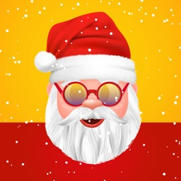 Santa Claus Stickers Pack!