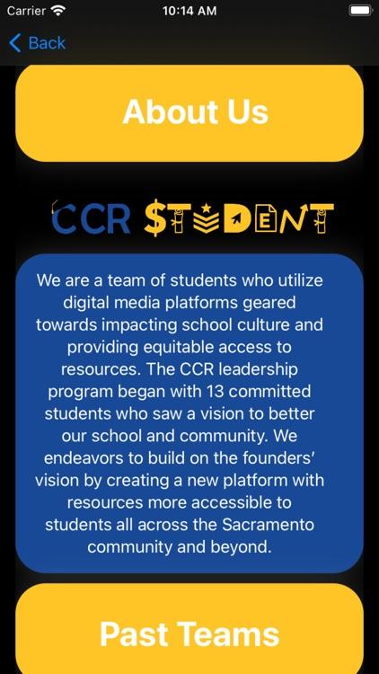 CCR App screenshot-4