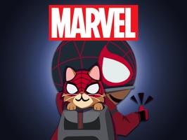 Spider-Man Game Stickers