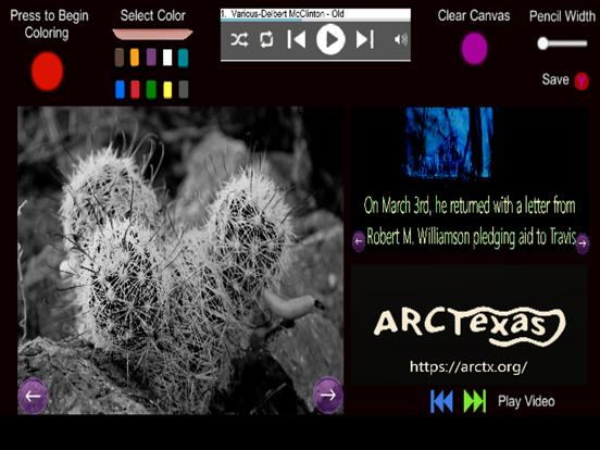 The Alamo- Coloring and Audio screenshot 6