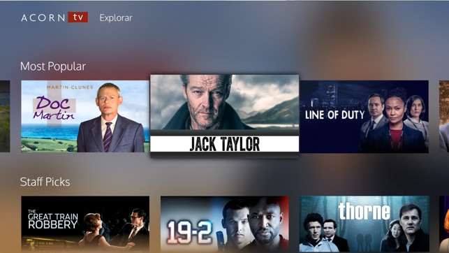 Acorn TV en App Store