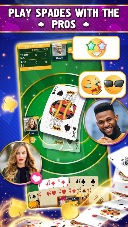 VIP Spades - Online Card Game screenshot-4