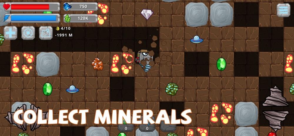 Digger Machine: dig minerals Cheat Codes