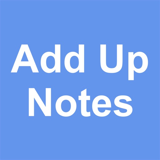 Add Up Notes