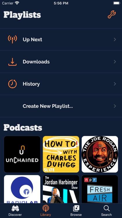 Podalong Podcast Player screenshot-3