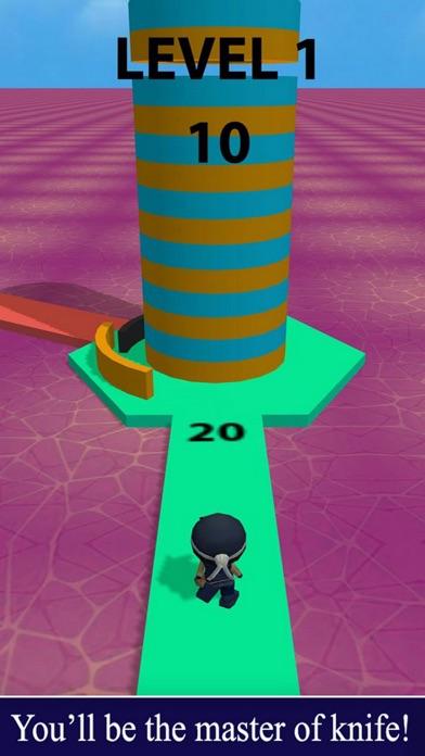 Challenge Ninja Throw screenshot 2
