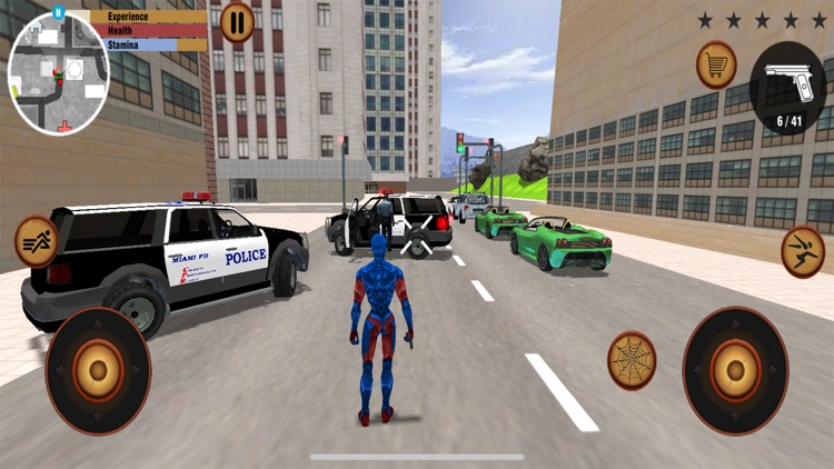 Flying Spider Stickman hero screenshot-4