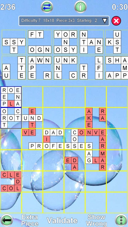 Jigsaw Crossword screenshot-4