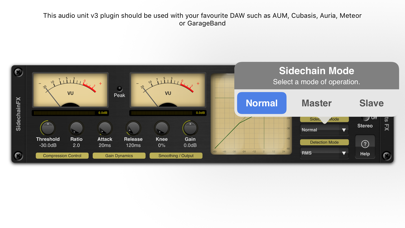 Sidechain Compressor Plugin screenshot 3