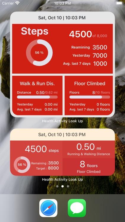 Health Widget - Quick Look Up screenshot-7