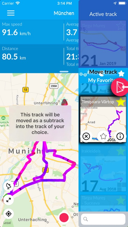 TraceMyTrack PRO screenshot-3
