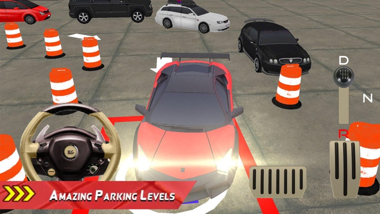 Modern Car Parking Drive