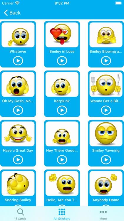 Emojis 3D - Animated Sticker screenshot-6