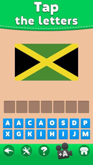 Screenshot for Flags Quiz - Word Puzzle Game in Sri Lanka App Store