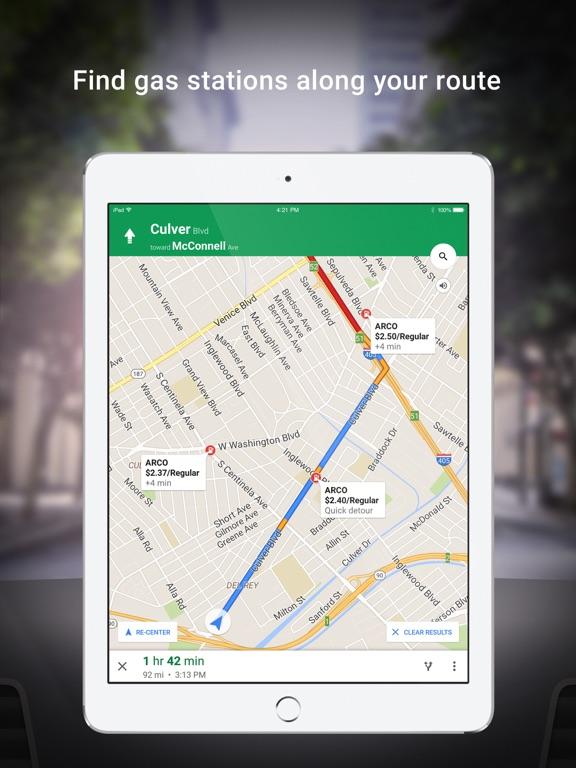 Screenshot #5 for Google Maps - Transit & Food