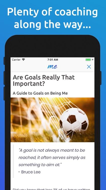 Being Me: Journal/Goals/Habits screenshot-8