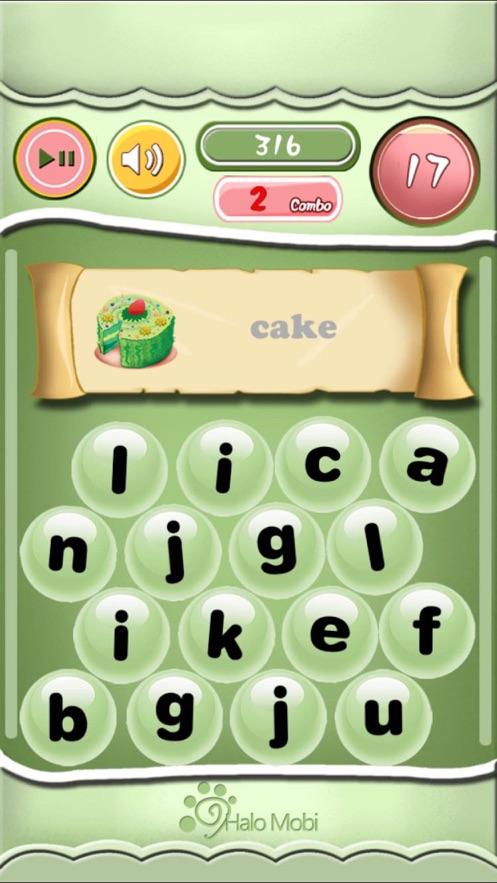 小学英语单词拼写练习-少儿英语教育游戏(图1)