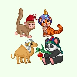 Cute Animals Emoji Stickers
