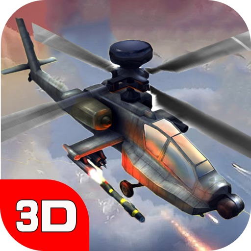 Helicopter war-shoot world
