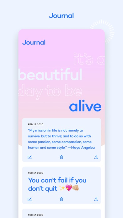 Alive by Whitney Simmons Screenshot