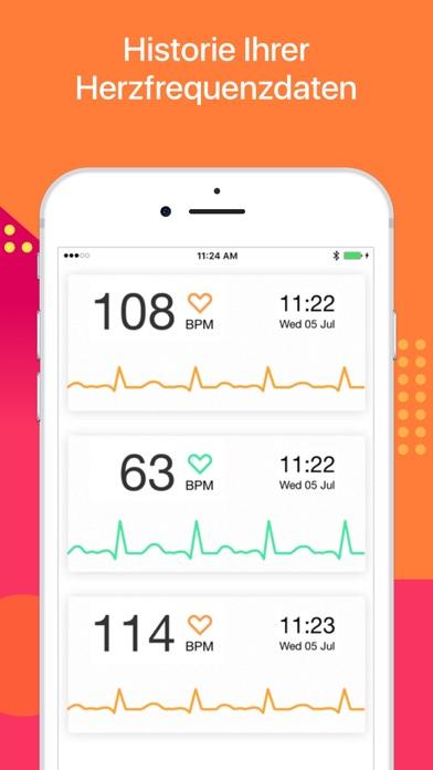 Screenshot for Puls Messen - Herzfrequenz in Germany App Store