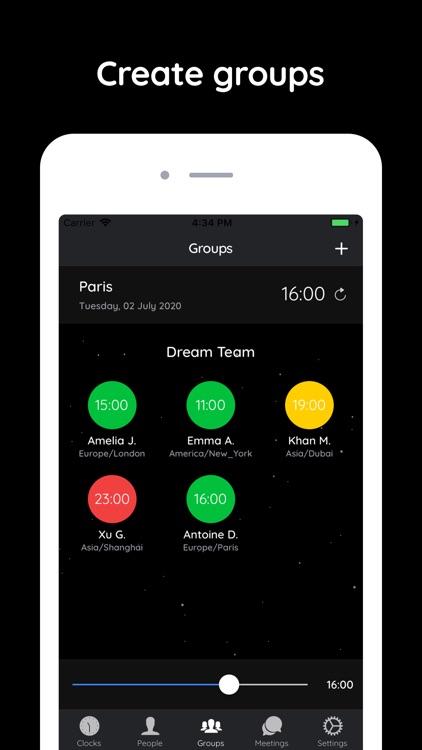 ClockWork - Organise Worldwide screenshot-3
