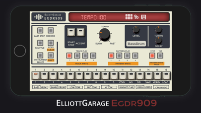 EGDR909 - 909 Drum Machine