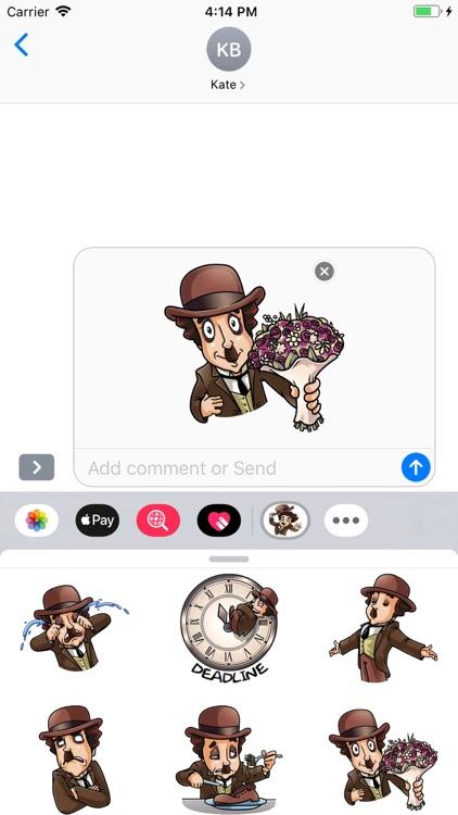 Joker Hat Stickers Pack screenshot-8