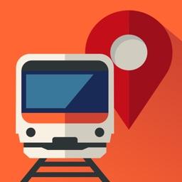 乗換MAPナビ :電車とバスの乗り換え案内ナビ