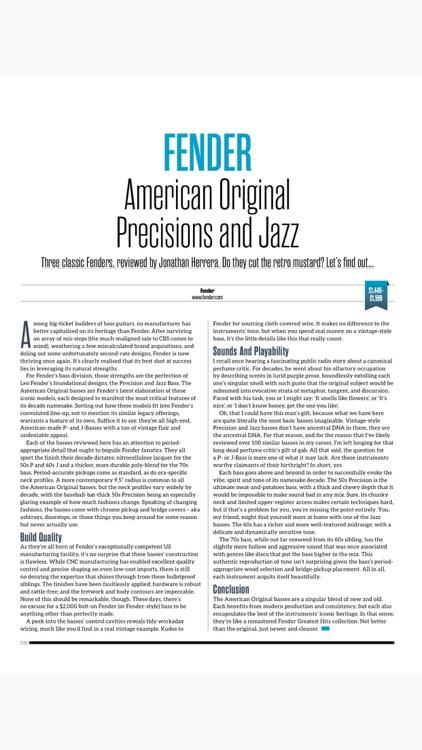 Bass: The Bass Guitar Magazine screenshot-5