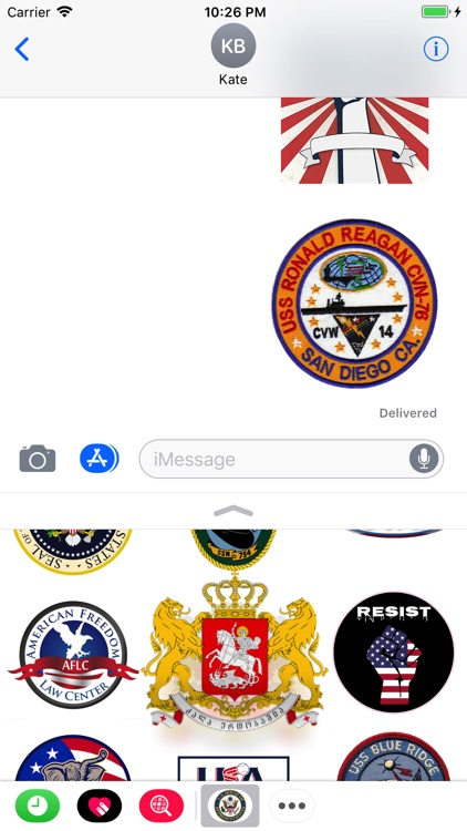 Symbols USA Stickers screenshot-4