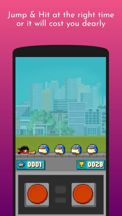 Pixel Ninja Go Bounce 2D screenshot-4