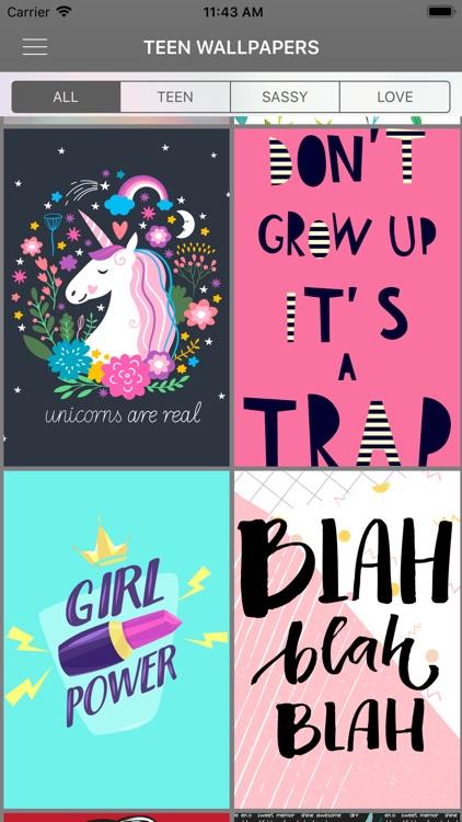 Teen Wallpapers & Backgrounds screenshot-3