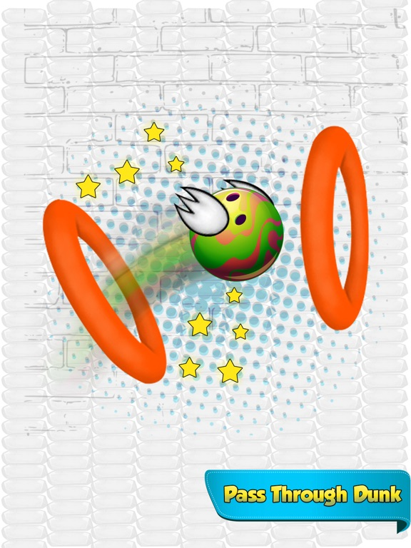 Dunk Ball Bird Game screenshot #4
