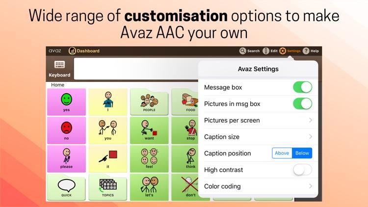 Avaz AAC screenshot-8