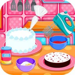 Baking black forest cake games