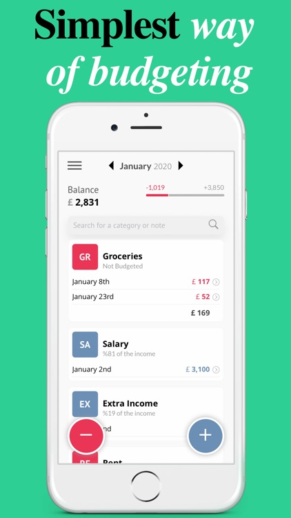 Simple Budget Planner screenshot-0