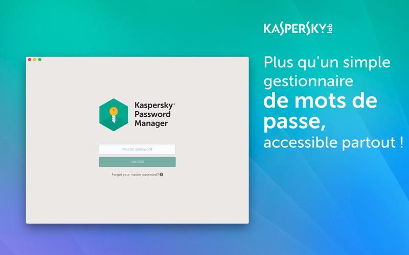 Screenshot #1 pour Kaspersky Password Manager