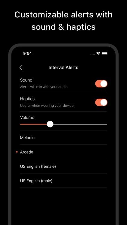 Pacer Fitness - Interval Timer screenshot-4