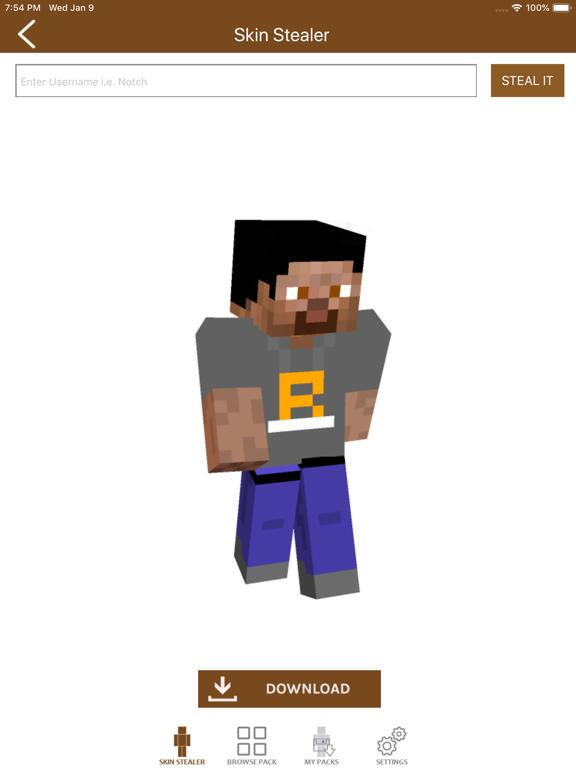 Skin Packs for Minecraft PE-ipad-6