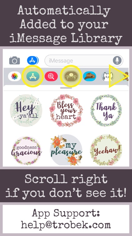 Southern Sayings Text Stickers screenshot-6
